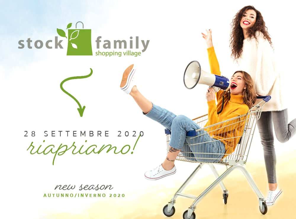 RIAPRIAMO Settembre 2021 - Stock Family Outlet