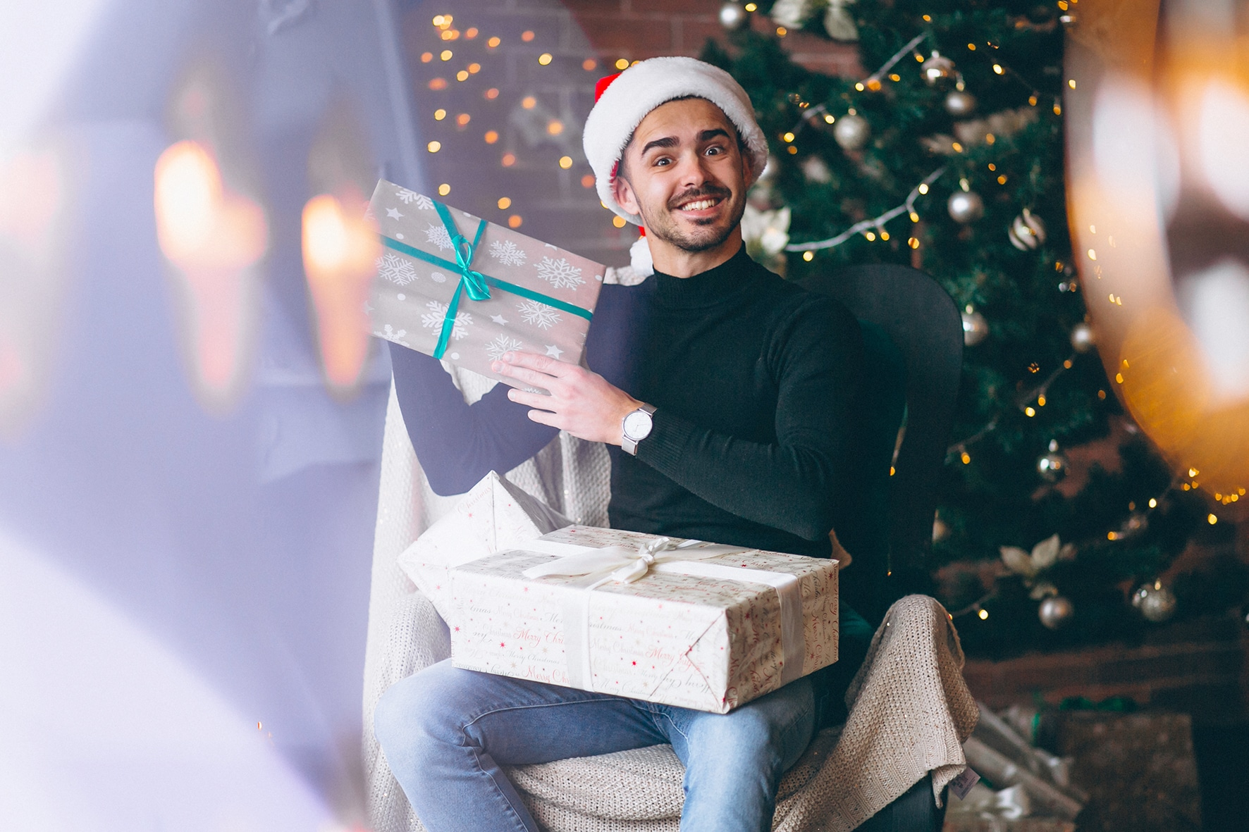 Outfit uomo feste natalizie 2020